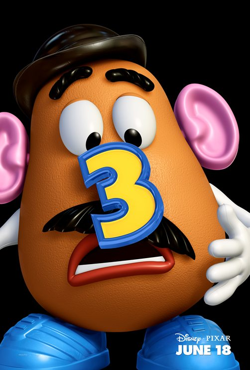 Toy Story 3 - Charakterposter Mr Potatohead