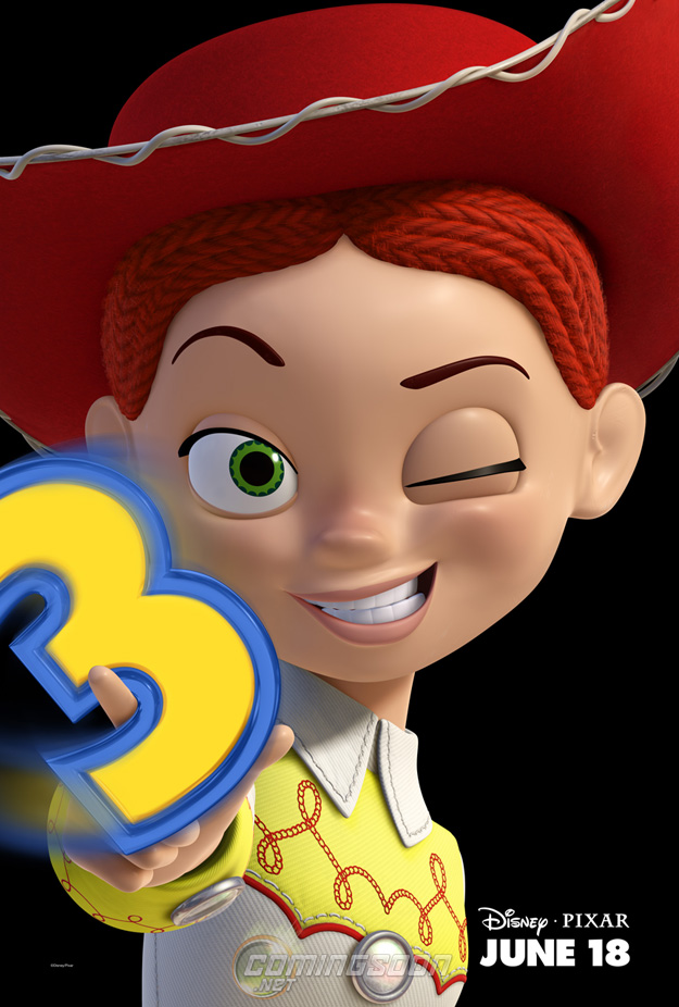 Toy Story 3 - Charakterposter Jessie