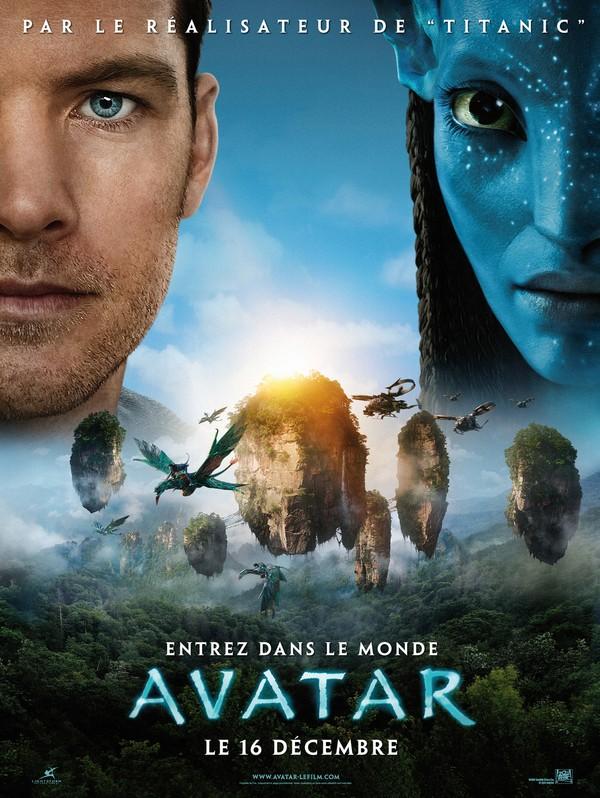 Avatar- französisches Poster