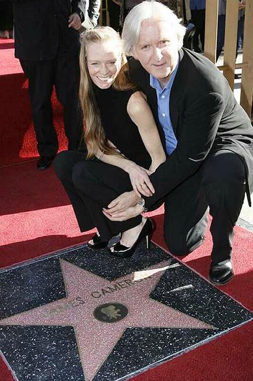 James Cameron - Walk of Fame 1