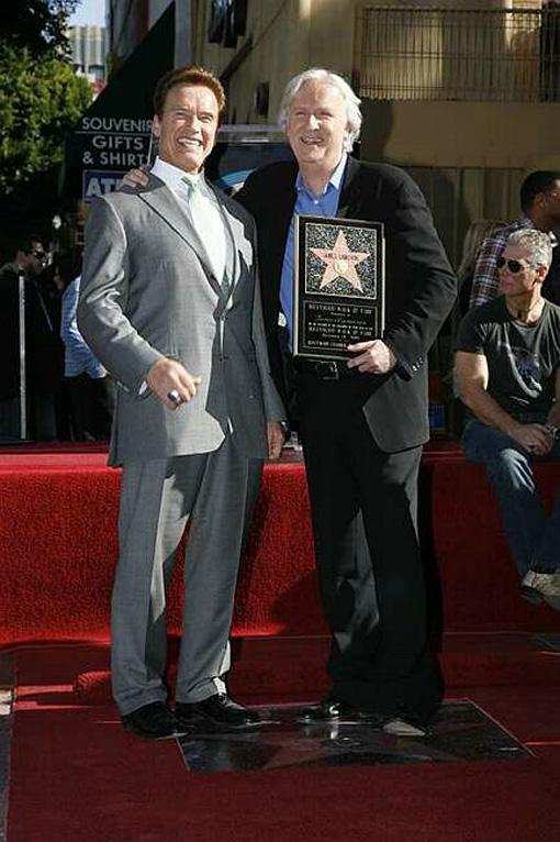 James Cameron - Walk of Fame 2