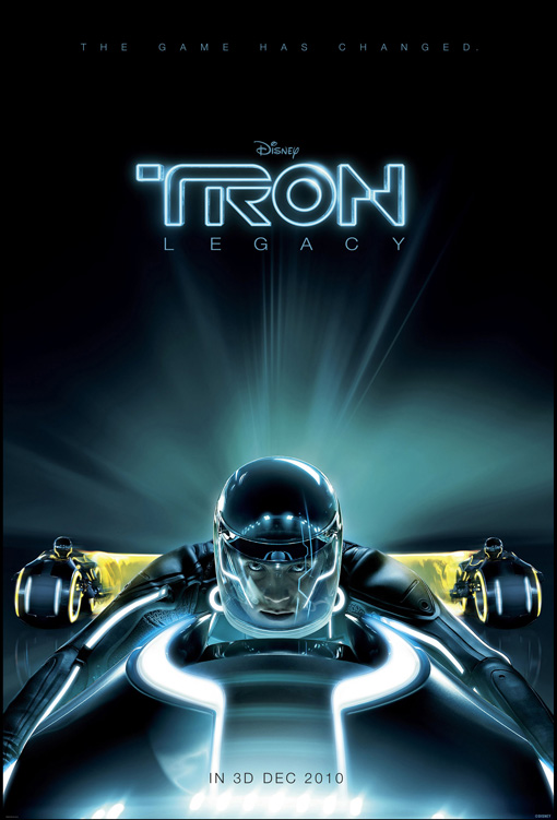 Teaserposter Tron Legacy