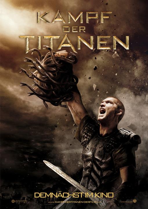 Kampf der Titanen - Teaserplakat