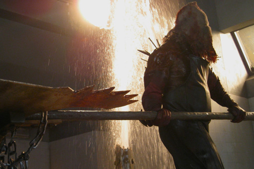 The Axeman in RESIDENT EVIL: AFTERLIFE 3D