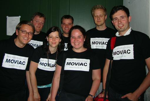 Nach fast vier Stunden Filmtablequiz erschöpft, aber glücklich- das Moviac Filmtablequiz-Team