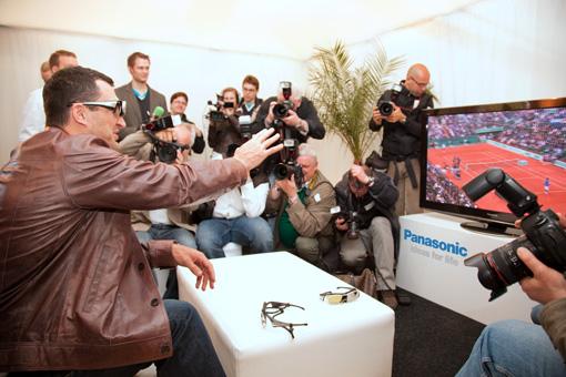 Panasonic 3D und Wladimir Klitschko