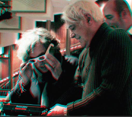 Alain Derobe mit Wim Wenders