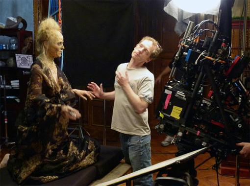 """""""The Forbidden Girl"""": Jeanette Hain und Regisseur Till Hastreiter"""