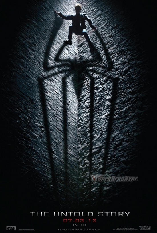 Teaserplakat -The amazing Spiderman