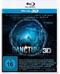 Sanctum 3D Blu-ray Cover, (c) Constantin