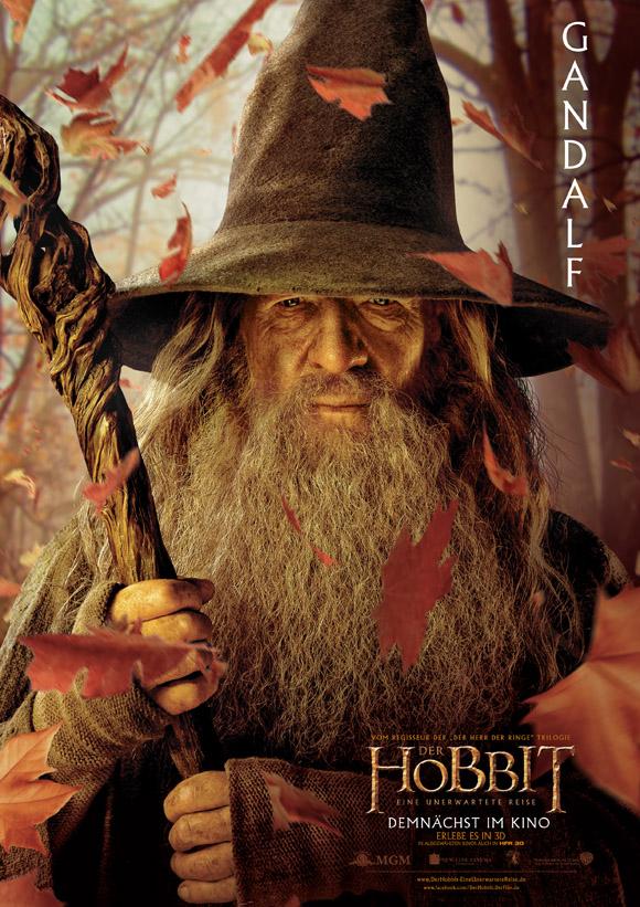 Der Hobbit- Charakterposter Gandalf HFR 3D