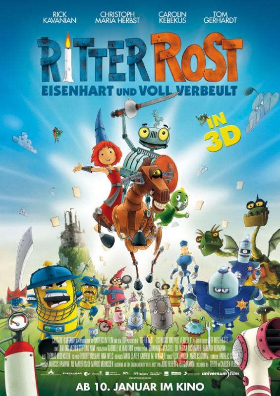 Ritter Rost 3D - Plakat