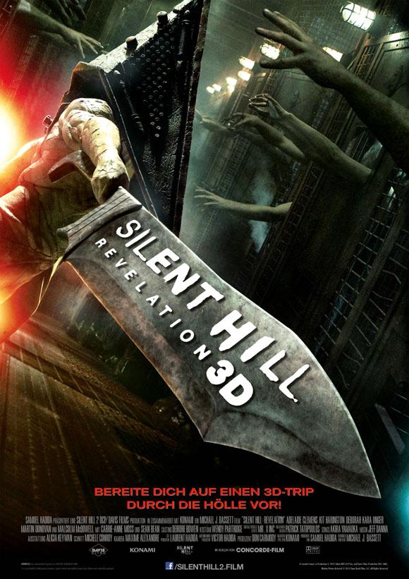 Silent Hill 2 Revelation 3D - Hauptplakat