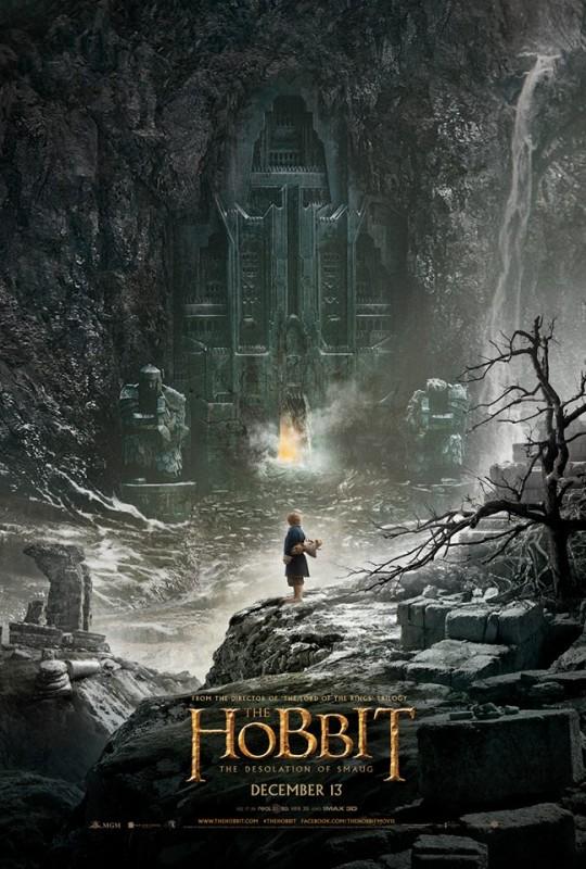 Teaserposter Der Hobbit-Smaugs Einöde