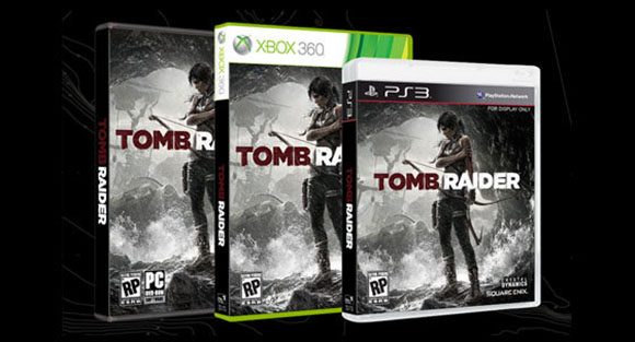 Packshots Tomb Raider