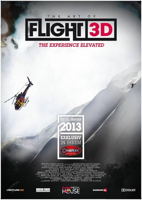 The Art of Flight 3D -Poster