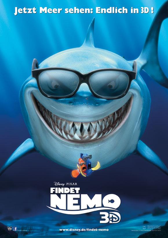 Findet Nemo 3D - Hauptplakat