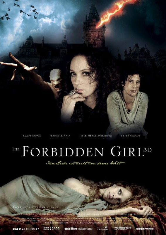 The Forbidden Girl -Filmplakat
