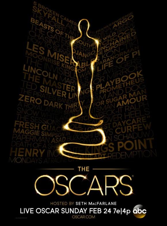 Oscars 2013 - Plakat