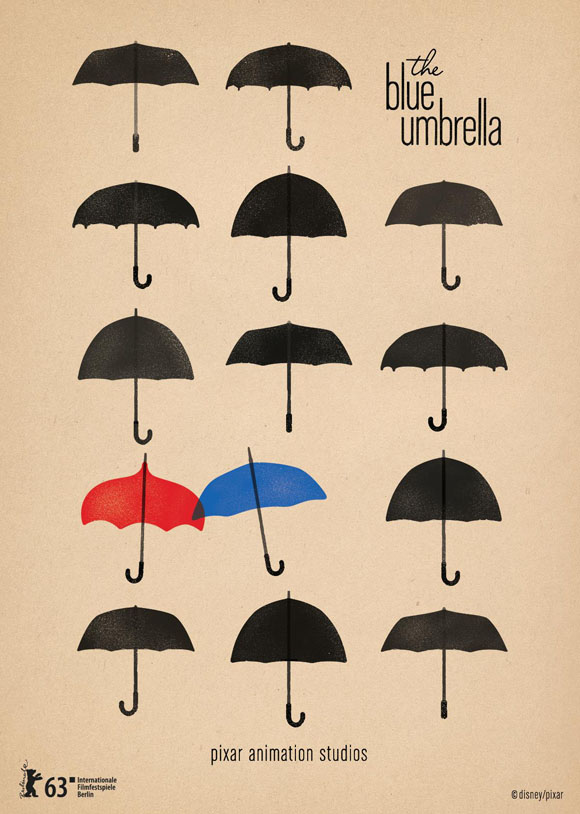 The Blue Umbrella - Plakat