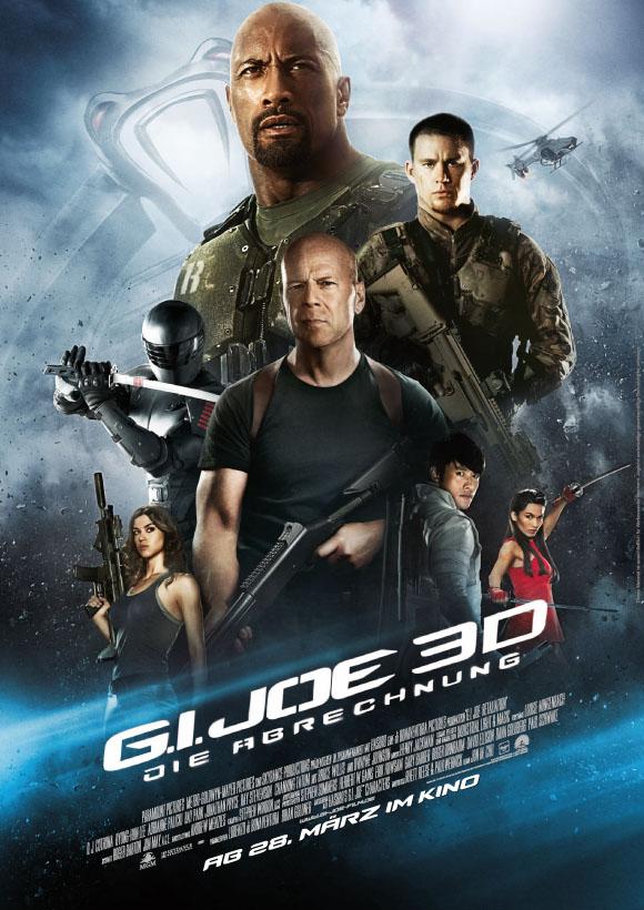 GI JOE 3D- Plakat