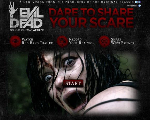 Dare to Share your Scare - Evil Dead