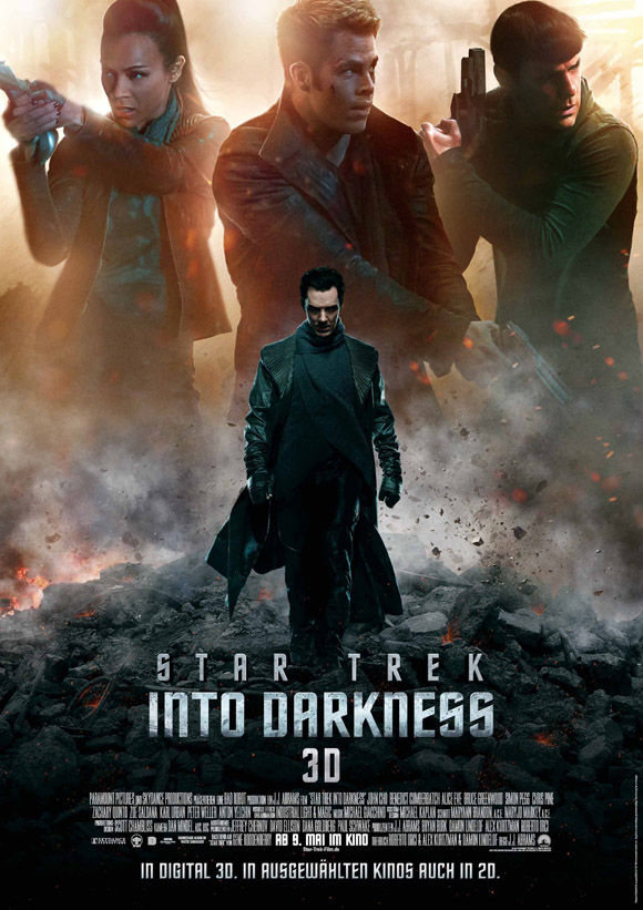 Hauptplakat - Star Trek Into Darkness 3D