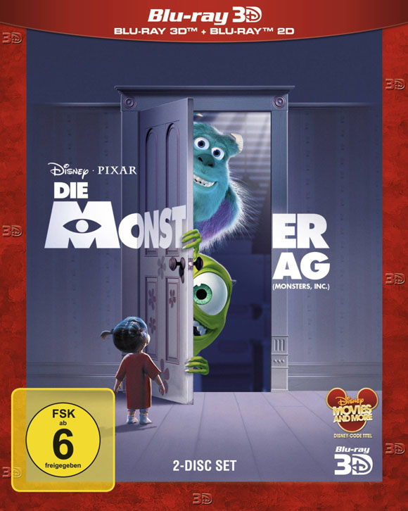 Monster AG 3D Blu-ray 3D
