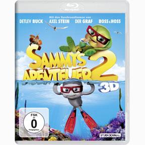 Sammys Abenteuer 2 -  Blu-ray 3D