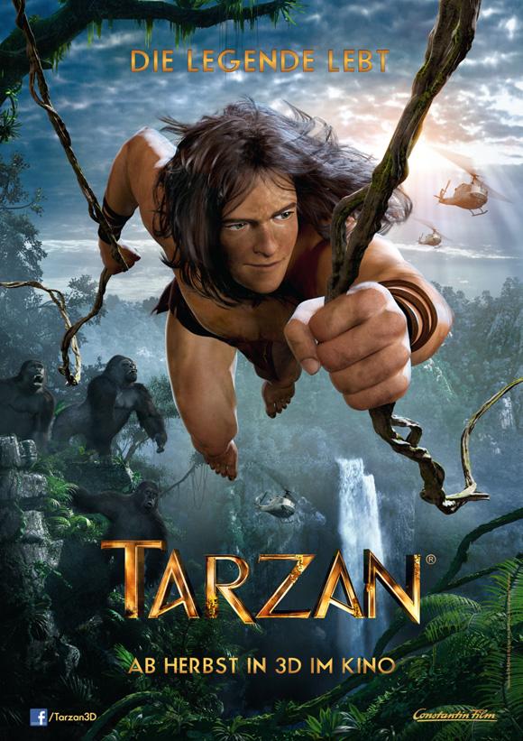 Tarzan 3D- Plakat