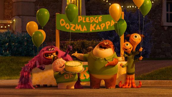 In der Bruderschaft von Oozma Kappa haben sich liebenswerte Monster versammelt