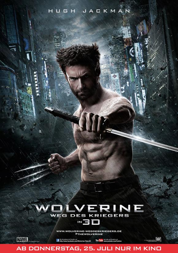 Wolverine Weg des Kriegers -Plakat