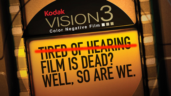Kodak- Film is Dead