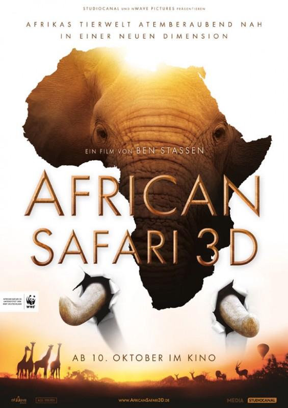 African Safari 3D -Hauptplakat