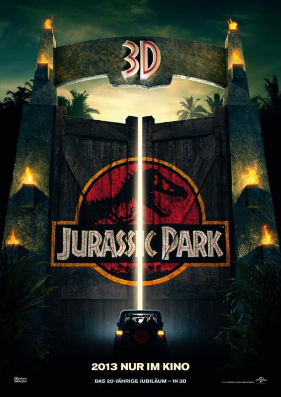 JurassicPark 3D- Filmplakat