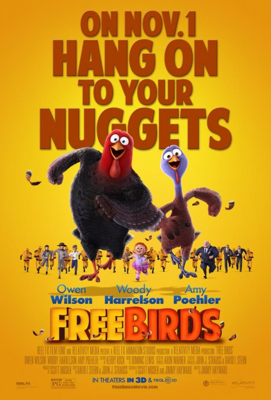 Poster -Free Birds