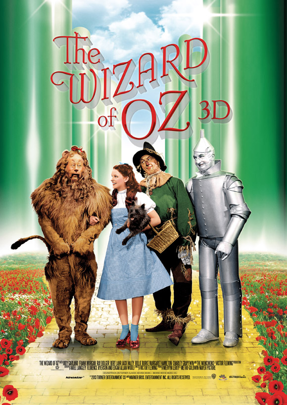 Wizard of Oz 3D - Plakat