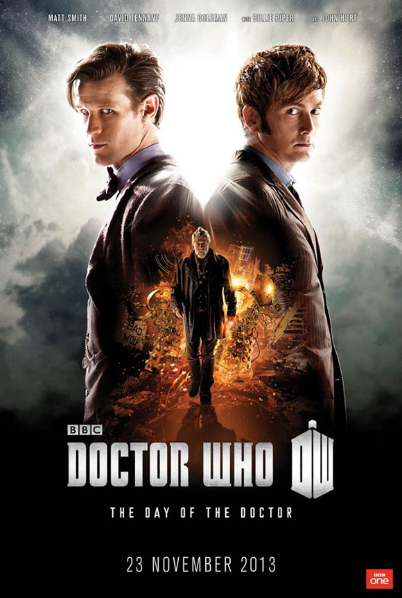 Doctor Who - The Day of the Doctor 3D -Plakat