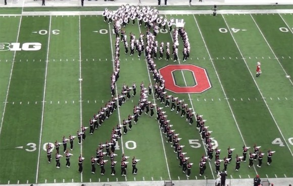Marching Band- Michael Jackson - Moonwalk