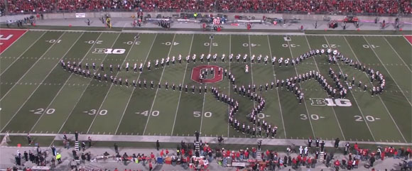 Ohio State Marching Band- Movies