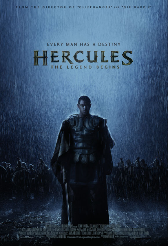 Poster Hercules- The Legend Begins -Kellan Lutz
