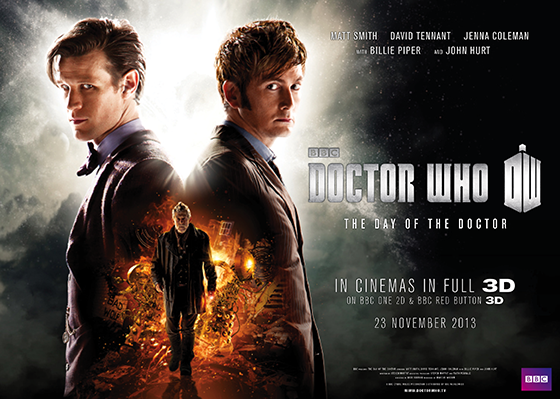 The Day of the Doctor- Poster Doctor Who
