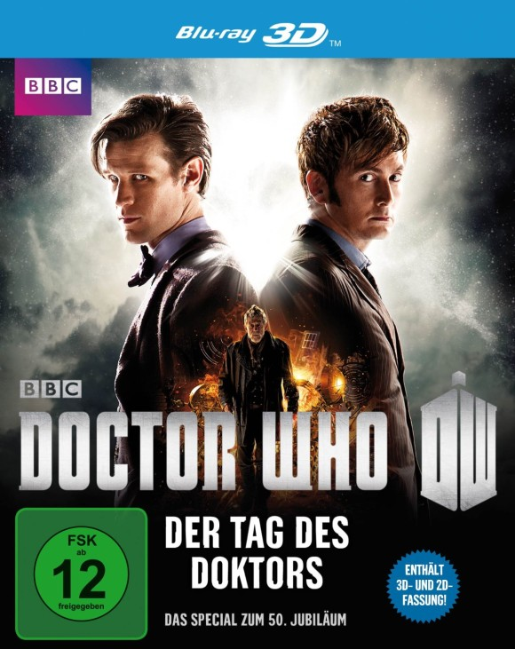 Doctor Who - Der Tag des Doktors- Blu-ray 3D
