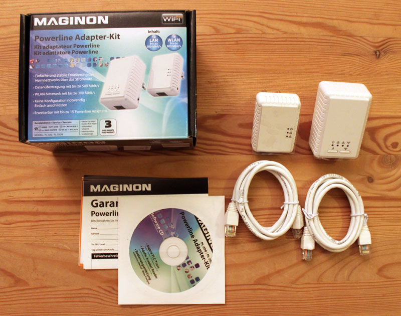 Maginon Powerline Adapter Kit 1