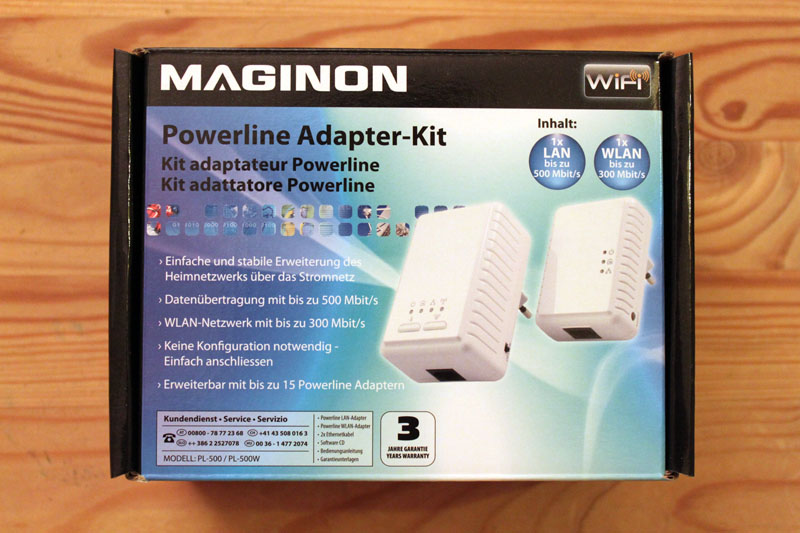 Maginon Powerline Adapter Kit 2