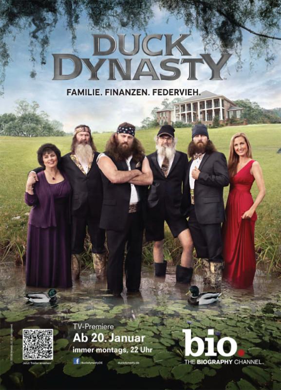 Duck Dynasty - Serie - Plakat