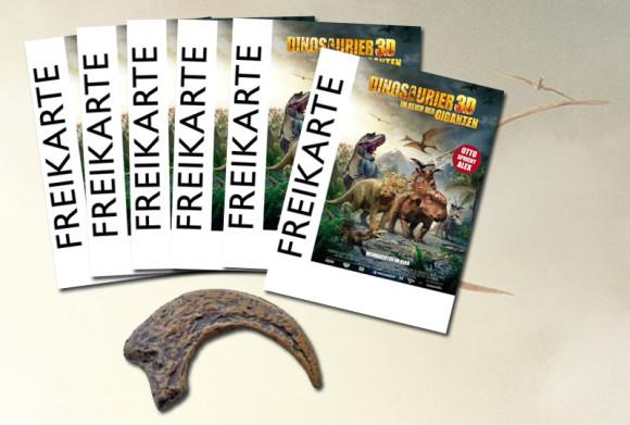 Gewinne Dinosaurier 3D