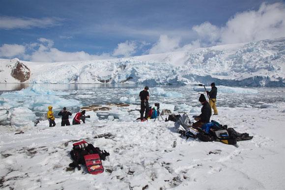 Mission Antarctic- Szenenbild 1
