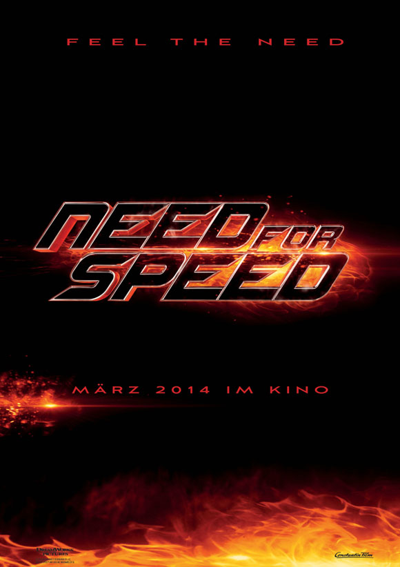 Need for Speed - Teaserplakat