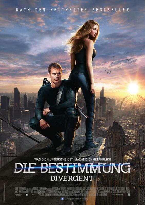 Plakat Divergent Die Bestimmung